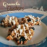 Plate of Granola Clusters