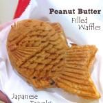 Taiyaki Peanut Butter Waffle