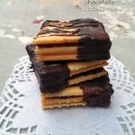 Saltine Peanut Butter Chocolate Sandwiches