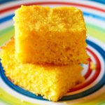 Stack of Pieces of Cornbread Gluten Free