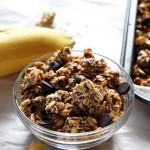 Roasted Banana Coconut Granola