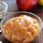 Slow Cooked Spiced Apple Sauce