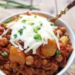 Slow Cooked Squash Chili