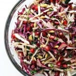 Festive Winter Cabbage Slaw