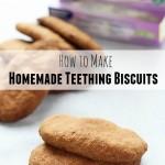 Homemade Teething Biscuit