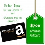 Win a $700 Amazon Gift Card