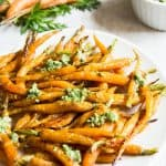 Maple Roasted Baby Carrots