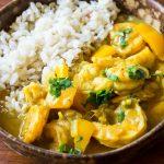 Coconut Curry Shrimp Recipe
