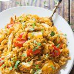 Instant Pot Cajun Chicken and Rice