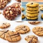 Gluten Free Cookies 3 Ways