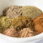 Garam Masala Ingredients measured into bowl