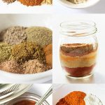 Seasoning Mix Recipe Collage