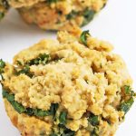 Healthy quinoa muffin