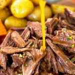 Pressure Cooker Pot Roast with Gravy