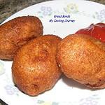 Bread Bonda  ( Deep fried bread with potato stuffing)