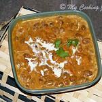 Rajma Masala – Red Kidney Beans Curry – BM # 32