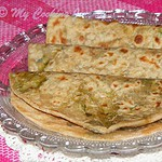 Stuffed Methi Paratha  – Stuffed Fenugreek Leaves Paratha