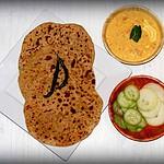 Bikaneri Channa Dal Paratha from Rajasthan – Flatbread stuffed with lentils