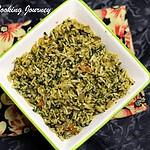 Spinach Rice – Lahsuni Palak Rice