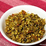Moong / Mung Sprouts Curry – Sprouted Moong / Mung Subzi