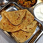 Sweet Paratha | Sweet Roti | Sugar Stuffed Flatbread