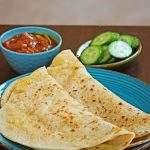Dhal Puri | Trinidad Split Pea Stuffed Flatbread – Vegan Flatbread