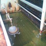 Visita de torre de refrigeración en mal estado. Reparación y limpieza en Sevilla