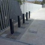 Trabajo de control y prevención de legionella en instituto de secundaria en Málaga