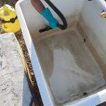 Limpieza de deposito de agua fría Sanitaria club de tenis en Córdoba