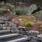 rocks and stairs