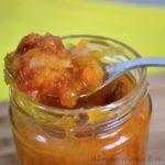 Chutney di zucca e pomodori bimby