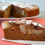 Torta cioccolato e pere bimby