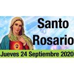 Santo Rosario de Hoy Jueves 24 Septiembre 2020 - MISTERIOS LUMINOSOS