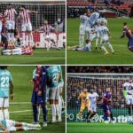 Messi Free Kick Players Lying Down Behind Wall