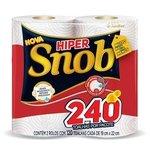 Papel Toalha Snob Hiper Branco 10pct C/2 Rolos 120fl