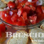 Classic Bruschetta