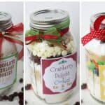 Cookies in a Jar – Mason Jar Gift Idea!