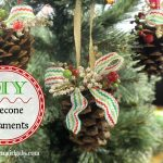 Rustic Pinecone Ornaments
