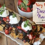 Very Berry Dessert Nachos
