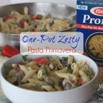One-Pot Zesty Pasta Primavera