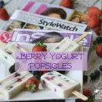 "Celebrating ""Me Time"" With Berry Yogurt Popsicles"