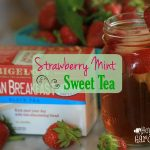 Strawberry Mint Sweet Tea