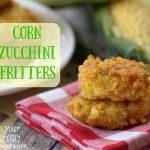 Corn Zucchini Fritters