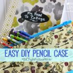 BIC® Fight For Your Write Plus Easy DIY Pencil Case