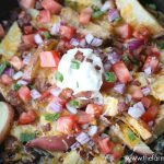Loaded Skillet Potatoes