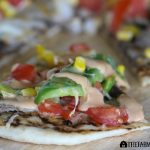 Grilled Jamaican Steak Flatbread