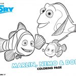 Finding Dory Coloring And Activity Sheets