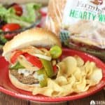 Italian Turkey Burgers