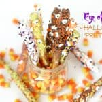 Eye Of Newt Halloween Pretzels