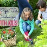 5 Tips For Gardening With Kids